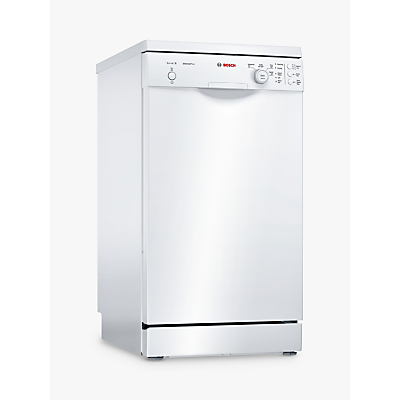 Bosch SPS24CW00G Freestanding Dishwasher, White