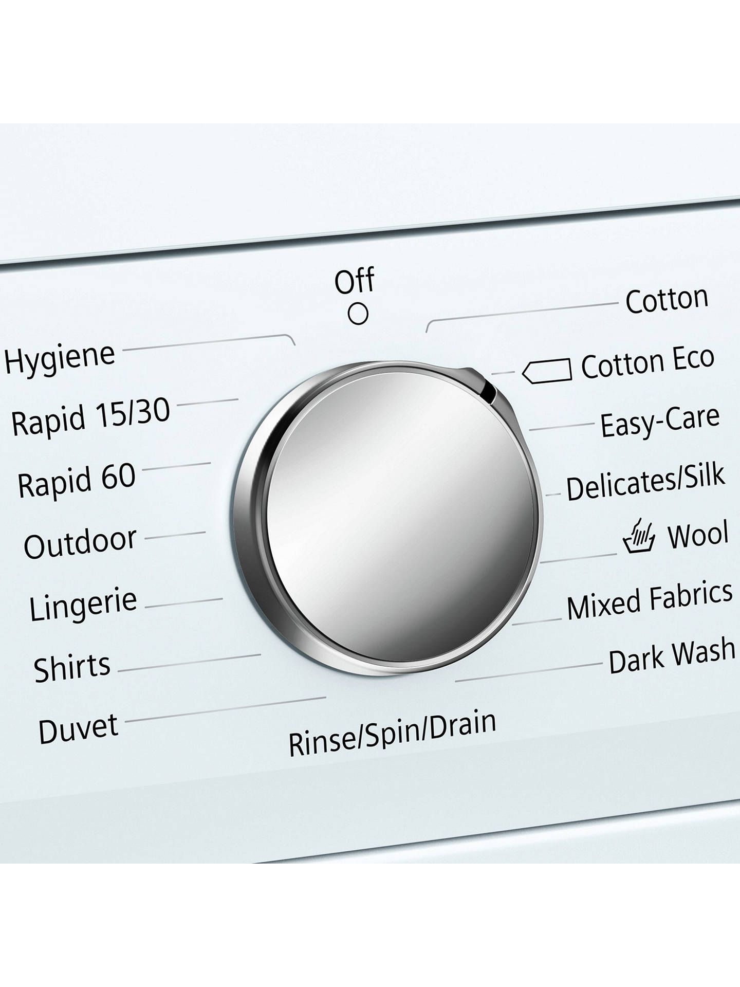 Siemens Wu14q420gb Freestanding Washing Machine 8kg Load A Drain Hose Additionally Wiring Diagram Buysiemens Energy Rating 1400rpm Spin