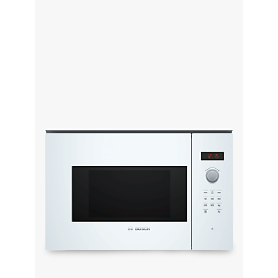 Image of Bosch Serie 4 BFL523MW0B Built-In Microwave, White
