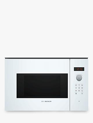 Bosch Serie 4 BFL523MW0B Built-In Microwave, White