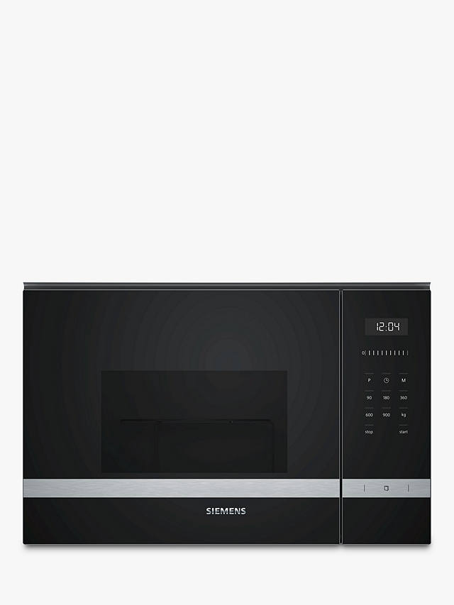 Buy Siemens BF555LMS0B Built-in Microwave, Stainless Steel Online at johnlewis.com