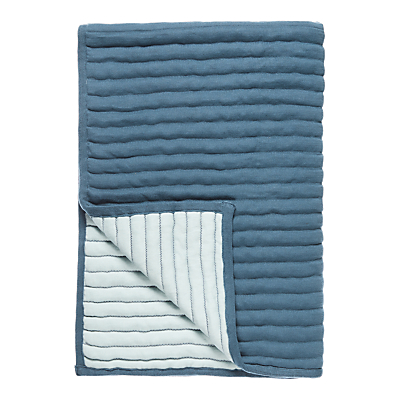 little home at John Lewis Ribbed Throw