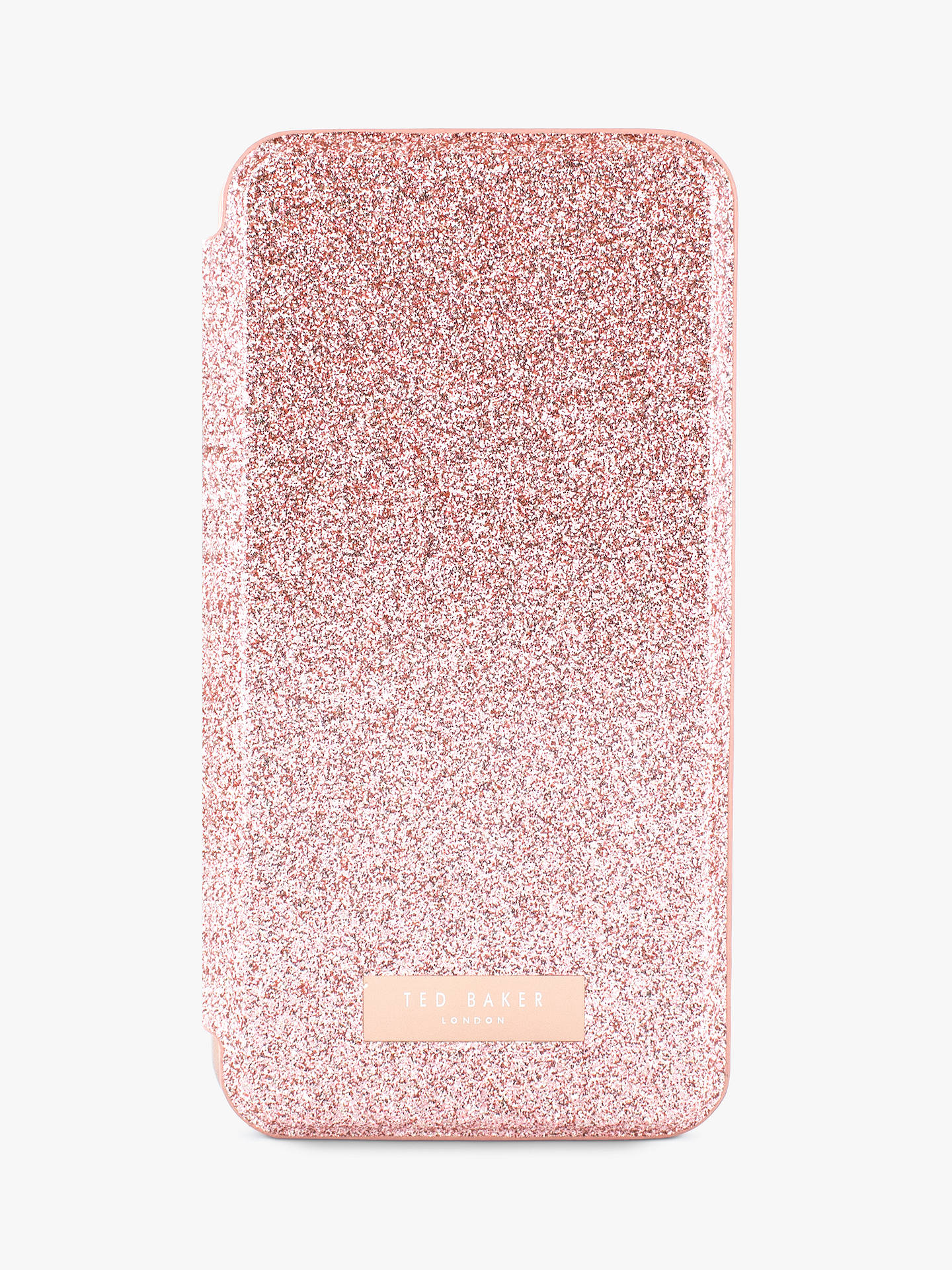 pretty nice 2508e ab2aa Ted Baker PERI Mirror Folio Case for iPhone X, Rose Gold