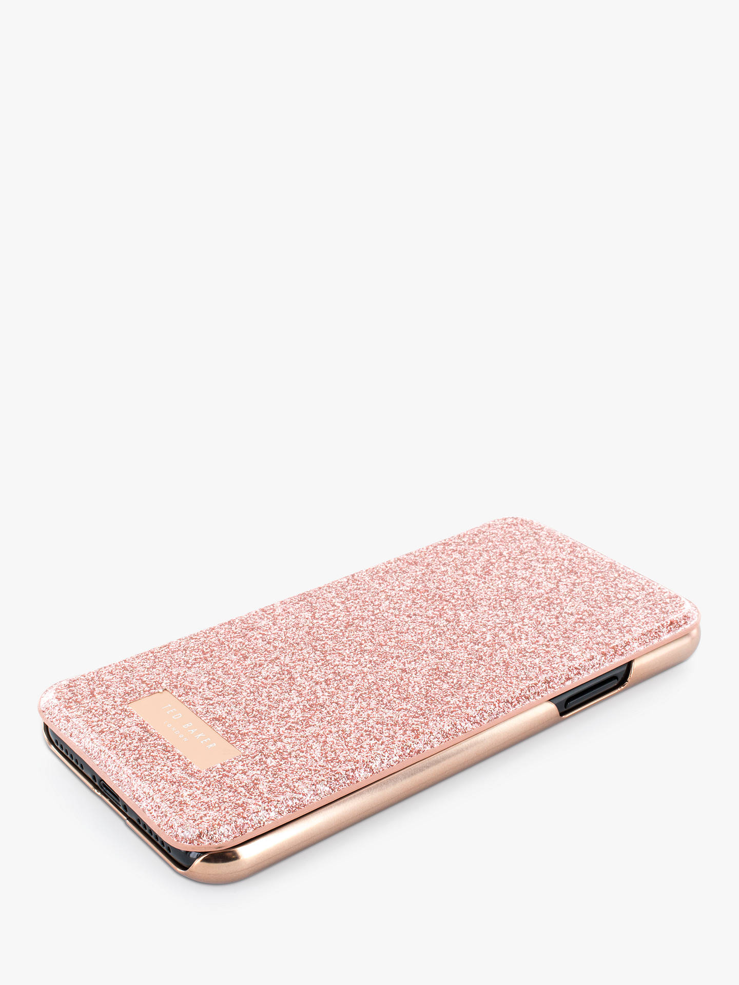 6327f5617 ... Buy Ted Baker PERI Mirror Folio Case for iPhone X