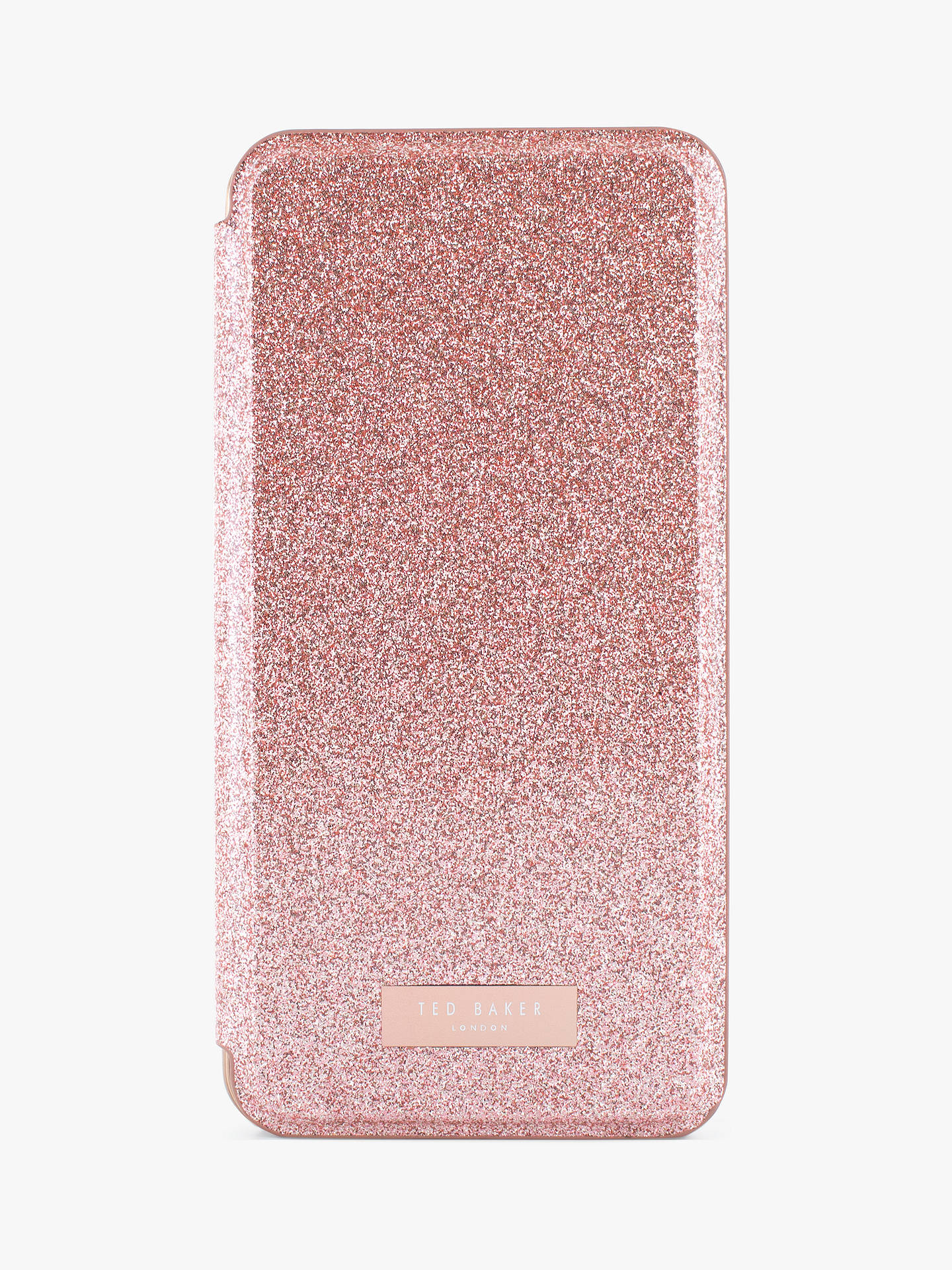 finest selection ea06a 843af Ted Baker SPRITSIE Mirror Folio Case for iPhone 6/7 and 8 Plus, Rose Gold