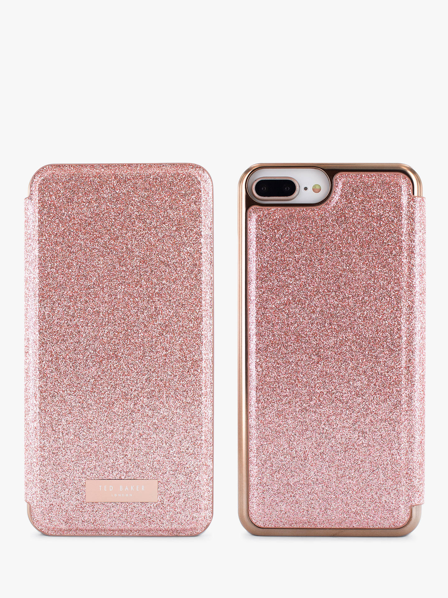 finest selection e7450 f098c Ted Baker SPRITSIE Mirror Folio Case for iPhone 6/7 and 8 Plus, Rose Gold