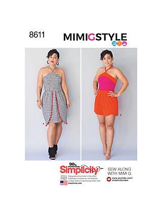 Sewing Patterns   Simplicity & Vogue Patterns   John Lewis & Partners