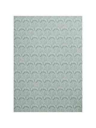 John Lewis & Partners Pavone Wallpaper, Blue Grey