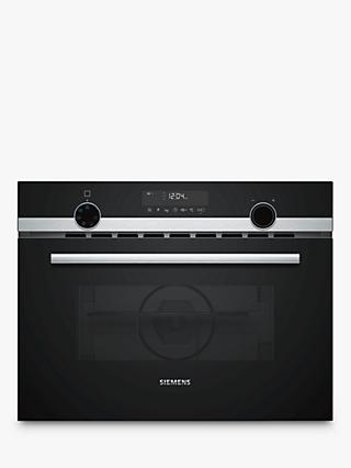 Siemens CM585AMS0B Built-in Microwave with Grill, Stainless Steel