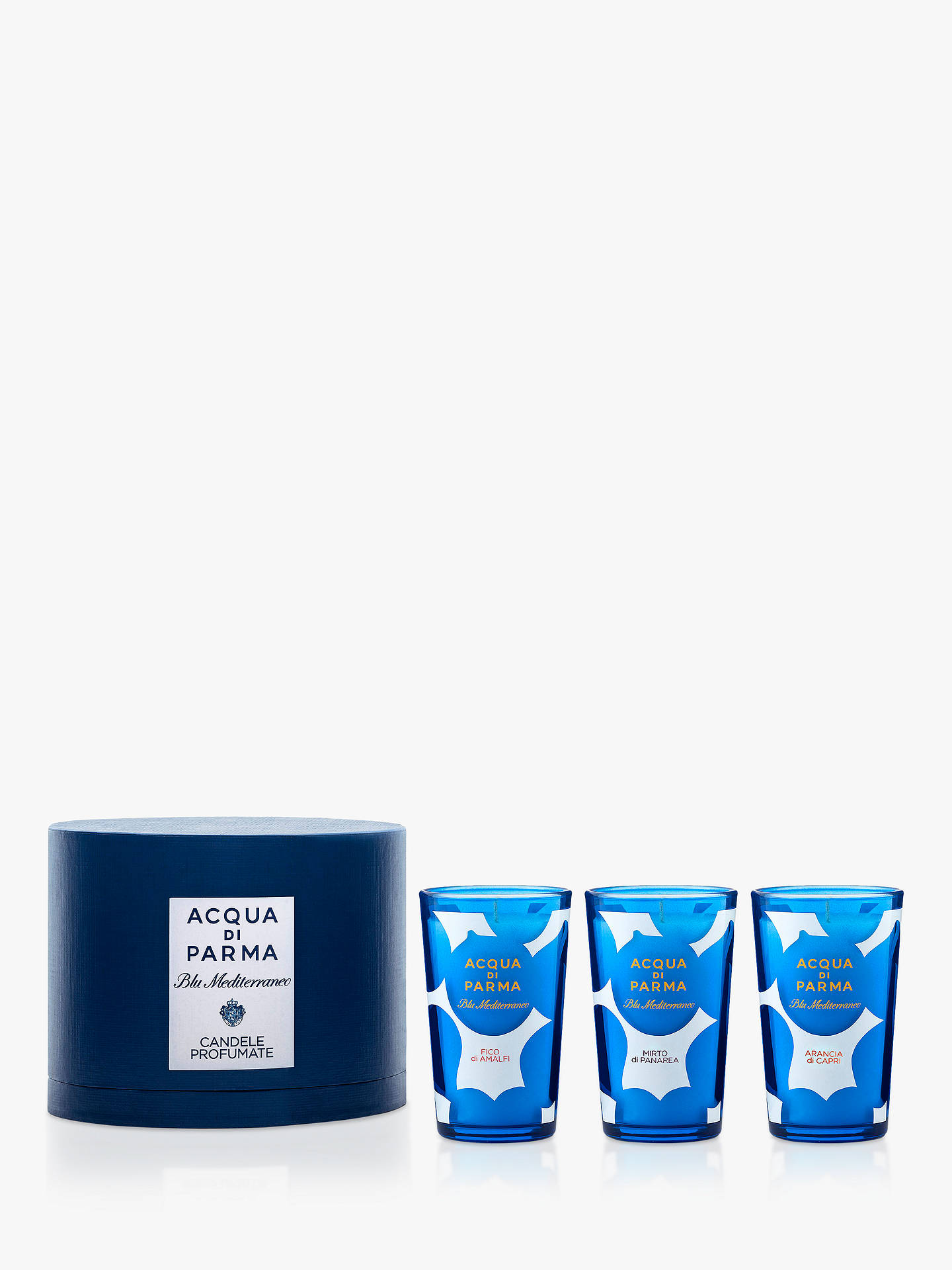 BuyAcqua di Parma Blu Mediterraneo Candle Collection Online at johnlewis.com