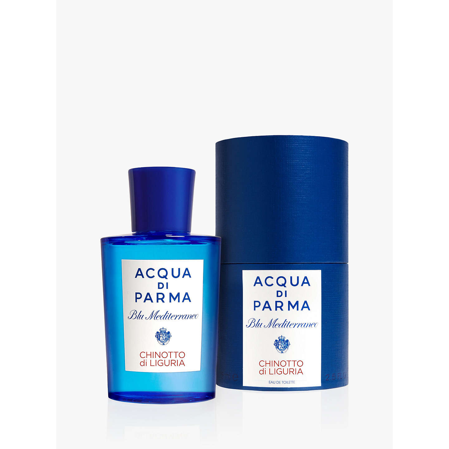 BuyAcqua di Parma Blu Mediterraneo Chinotto Liguria Eau de Toilette Spray, 75ML Online at johnlewis.com