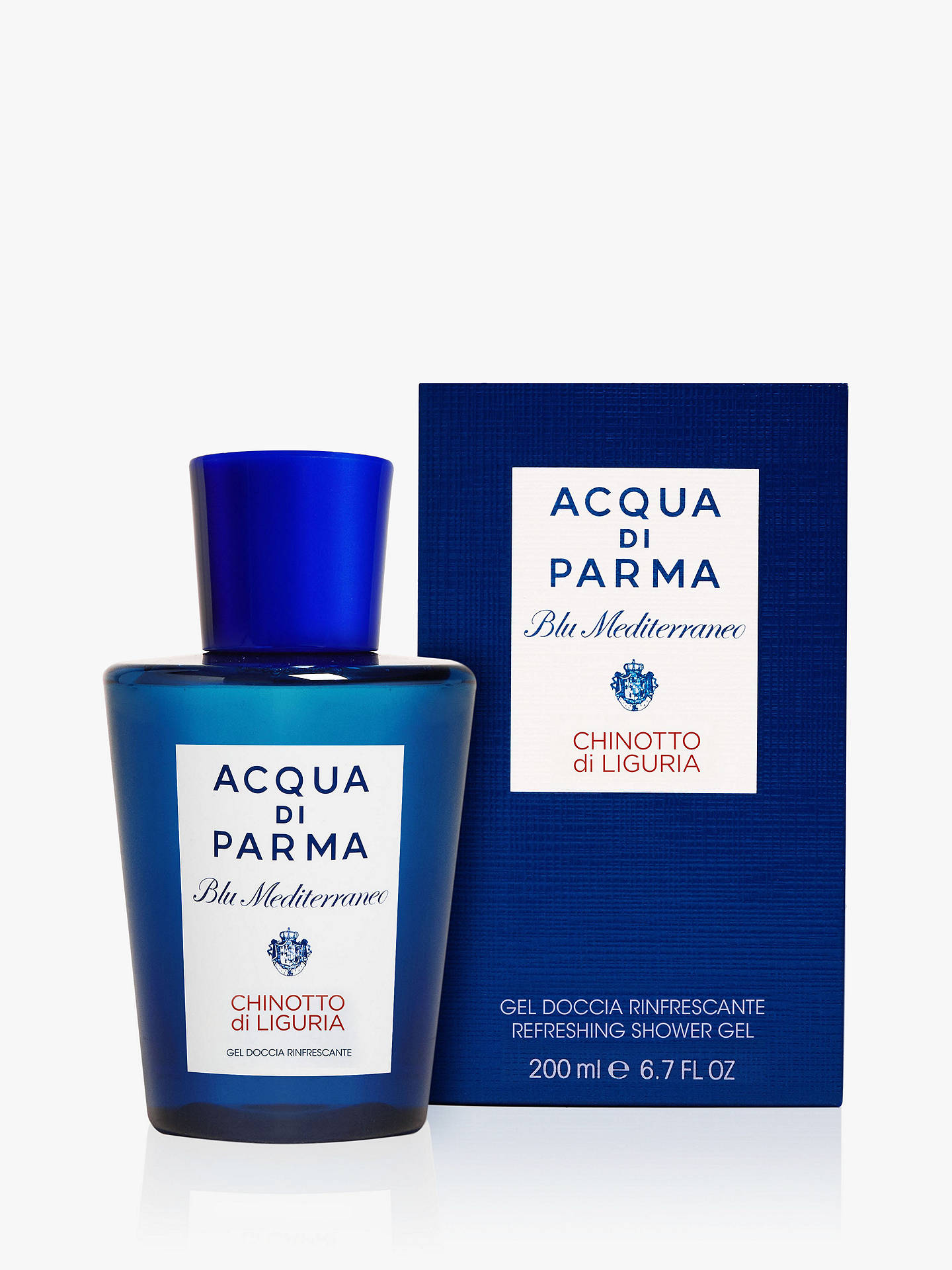 Buy Acqua di Parma Blu Mediterraneo Chinotto Liguria Shower Gel, 200ml Online at johnlewis.com