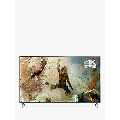 Panasonic TX-55FX700B LED HDR 4K Ultra HD Smart TV, 55 with Freeview Play & Switch Design Adjustable Stand, Gun Metal
