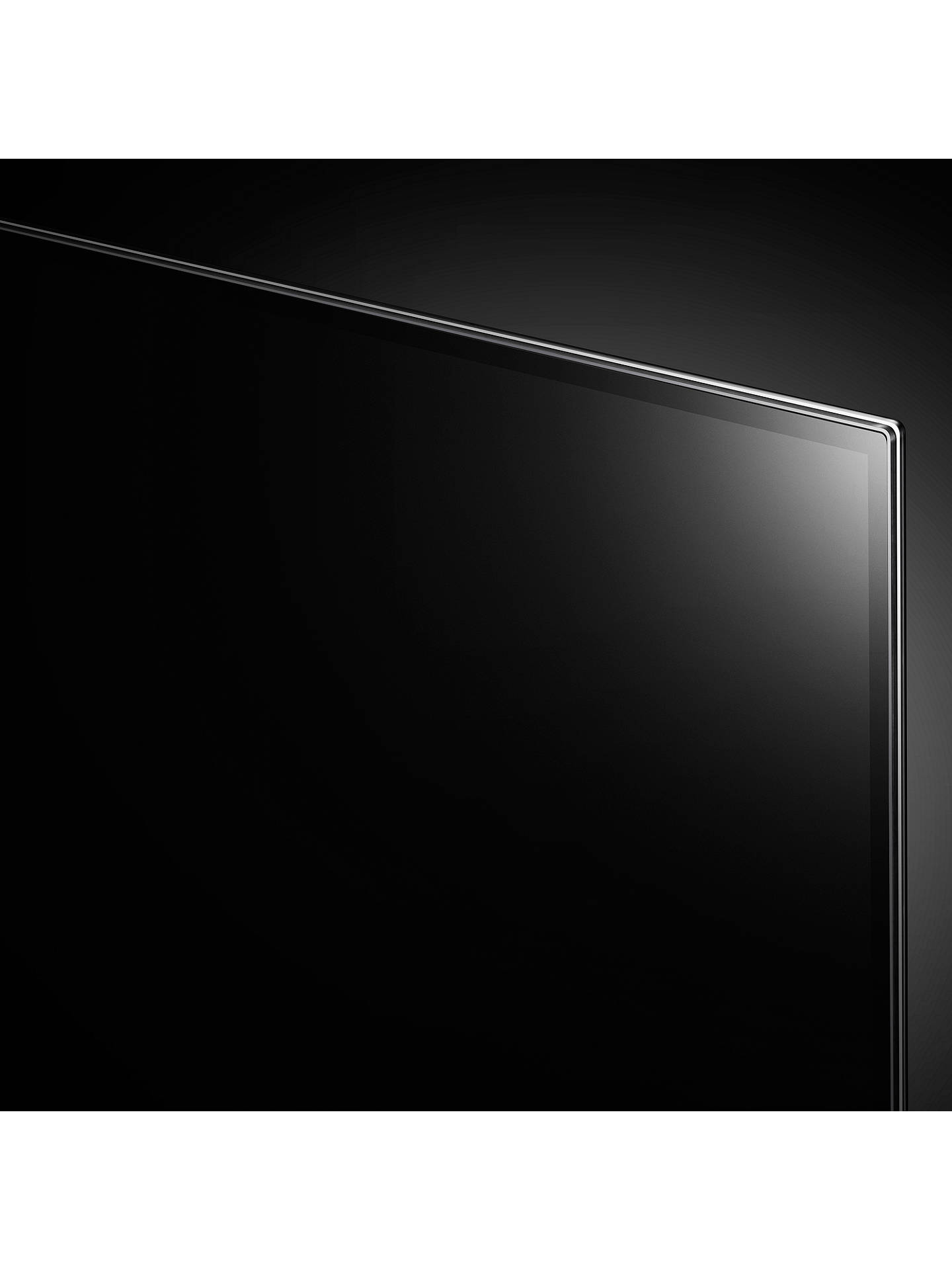 "BuyLG OLED65G8PLA Signature OLED HDR 4K Ultra HD Smart TV, 65"" with Freeview Play/Freesat HD, One-Glass Design & Dolby Atmos Sound Base Unit, Ultra HD Certified, Black Online at johnlewis.com"