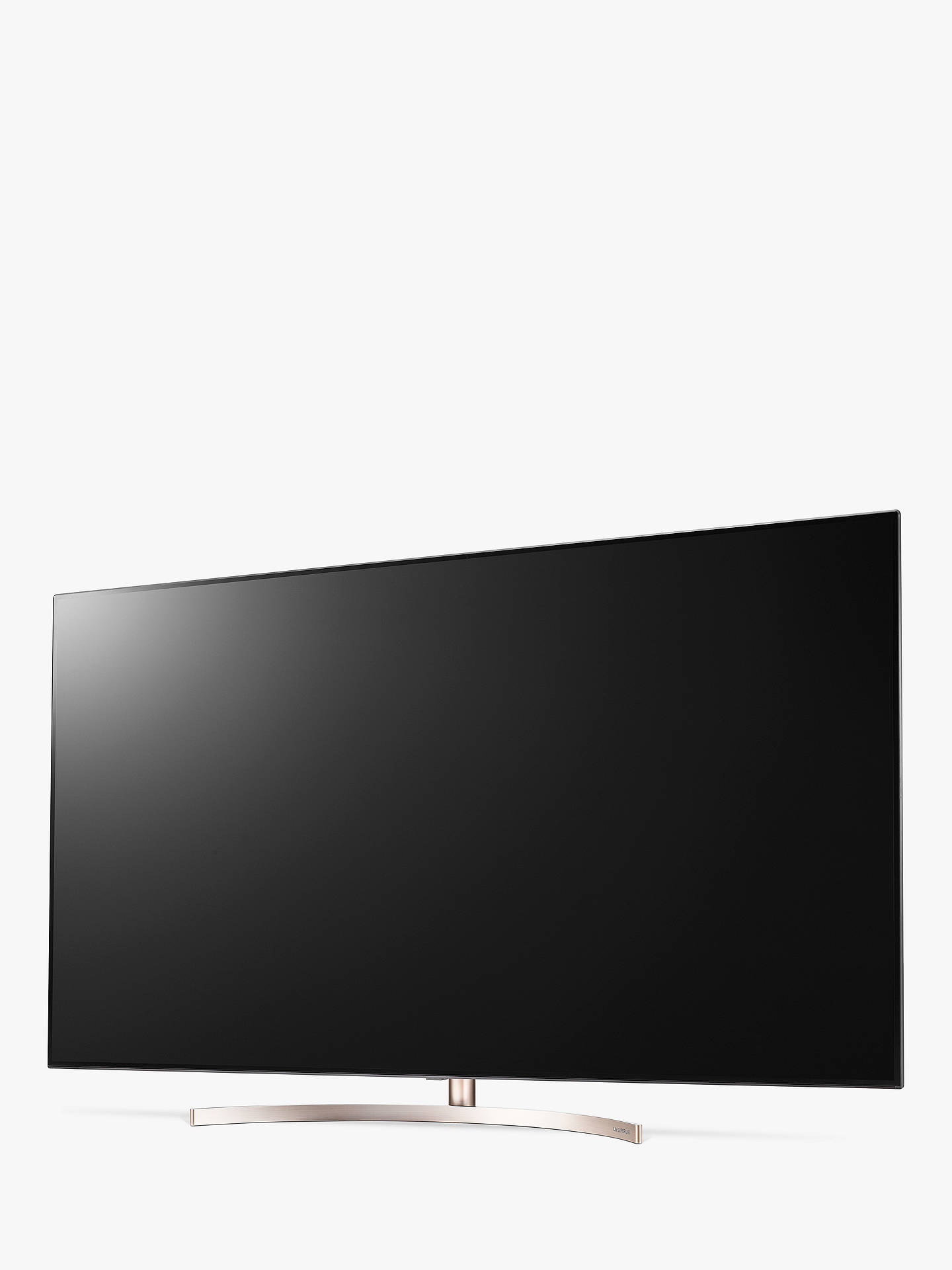 "BuyLG 65SK9500PLA LED HDR Super UHD 4K Ultra HD Smart TV, 65"" with Freeview Play/Freesat HD, Cinema Screen Design, Dolby Atmos & Crescent Stand, Ultra HD Certified, Black & Bronze Online at johnlewis.com"