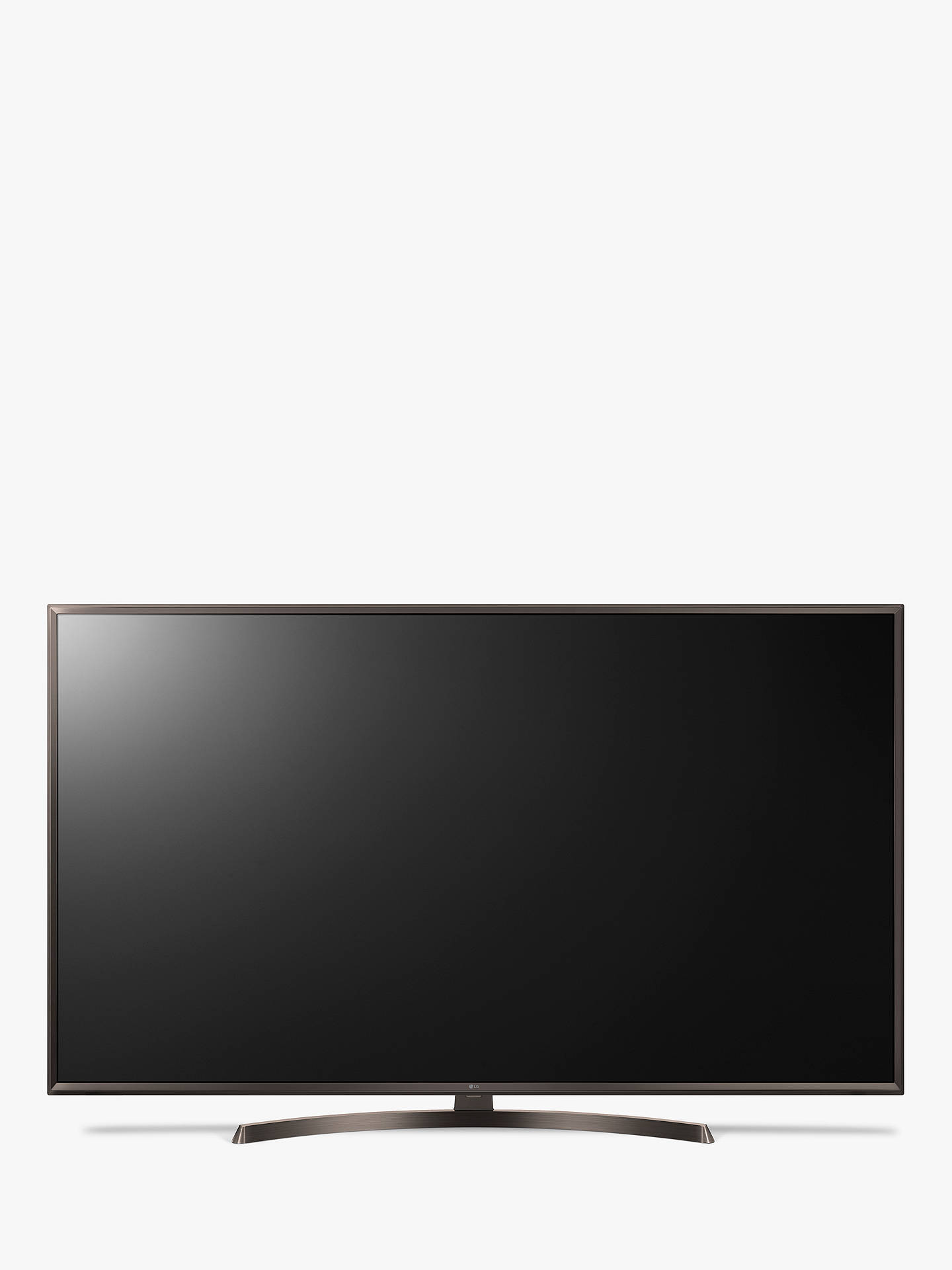 "BuyLG 65UK6400PLF LED HDR 4K Ultra HD Smart TV, 65"" with Freeview Play/Freesat HD & Crescent Stand, Ultra HD Certified, Metallic Bronze Online at johnlewis.com"