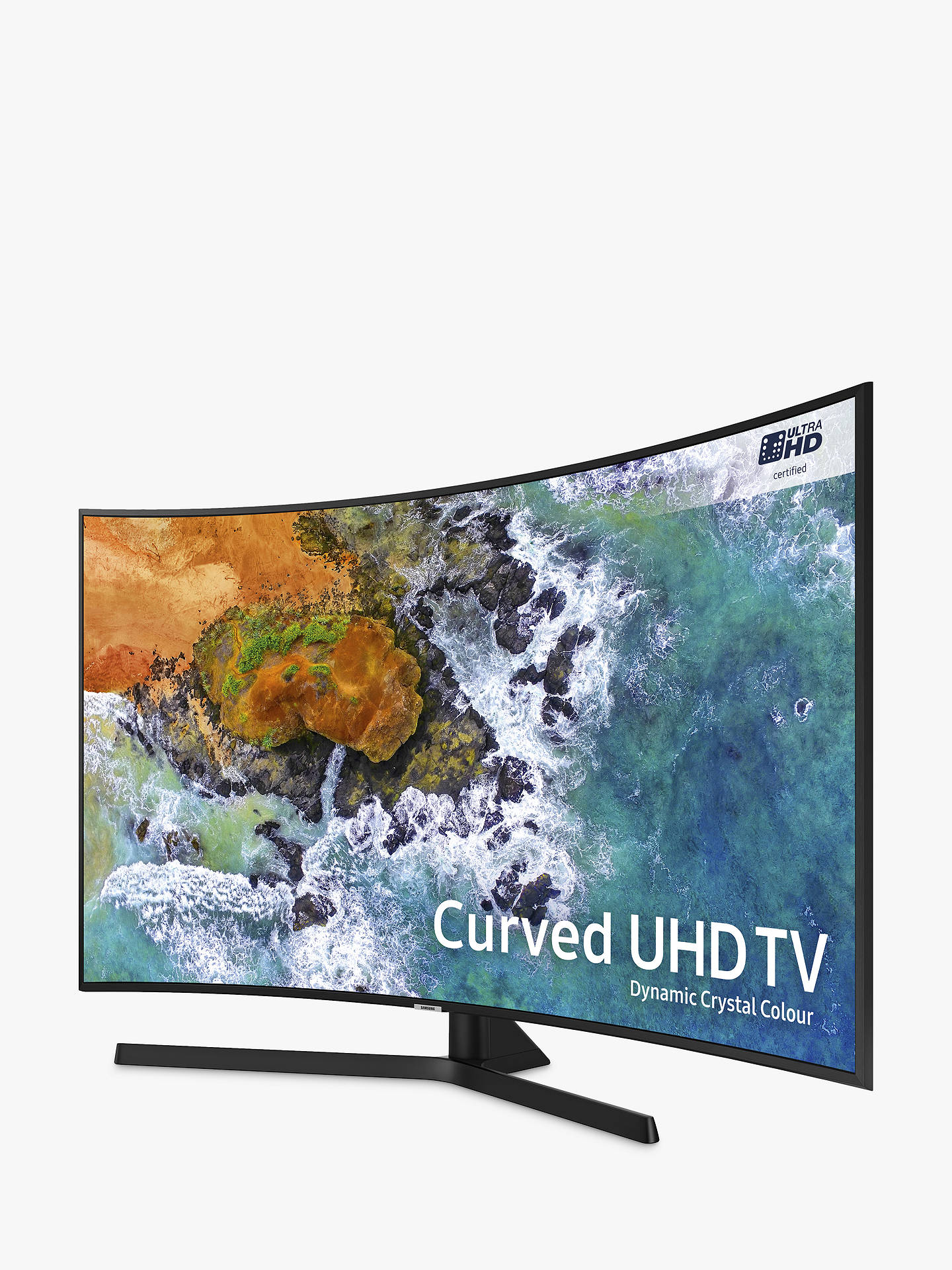 Samsung UE55NU7500 Curved HDR 4K Ultra HD Smart TV, 55