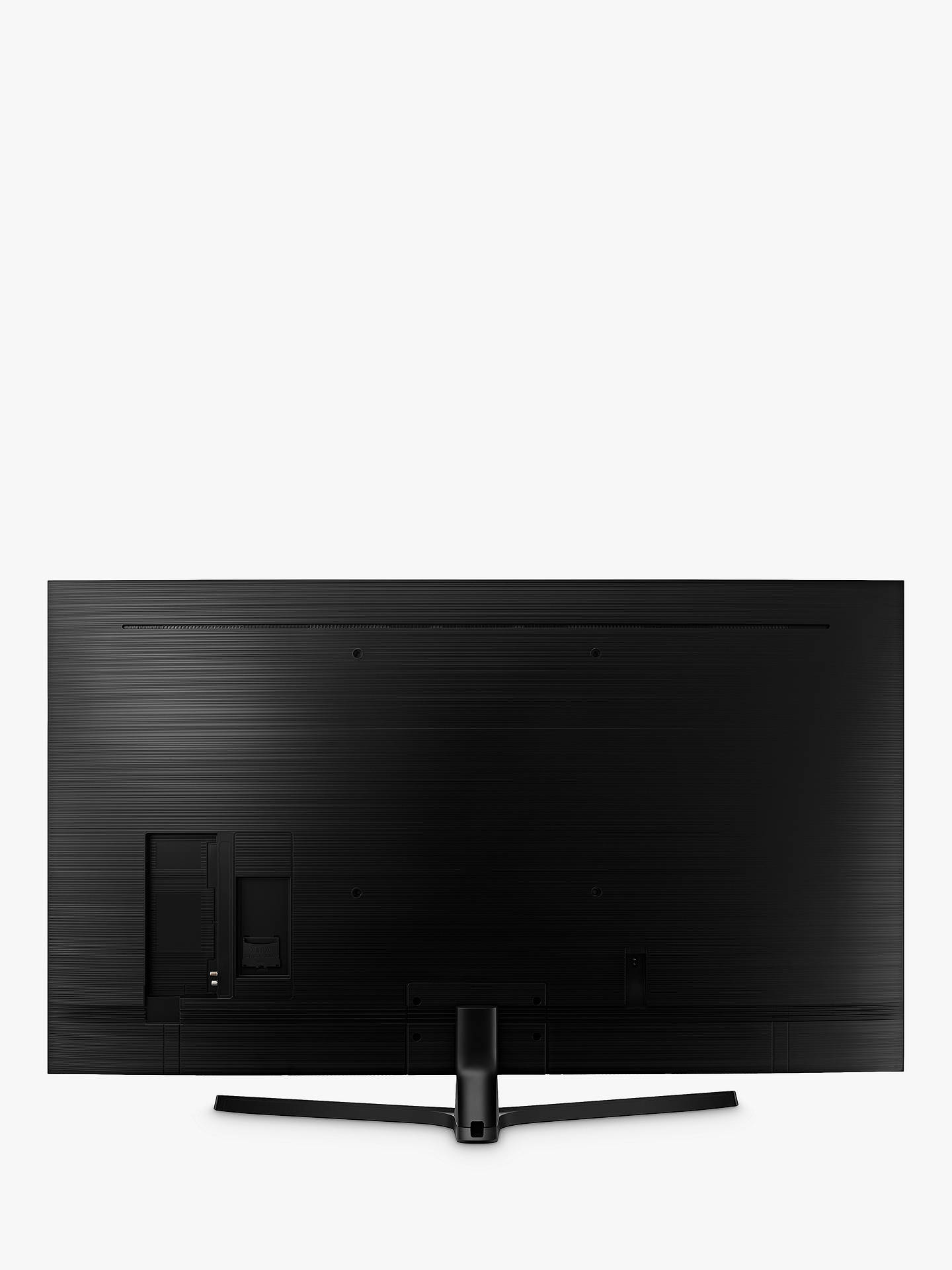 "Buy Samsung UE43NU7400 HDR 4K Ultra HD Smart TV, 43"" with TVPlus/Freesat HD, Dynamic Crystal Colour & 360 Design, Ultra HD Certified, Black Online at johnlewis.com"