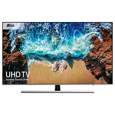 Samsung UE55NU8000 HDR 1000 4K Ultra HD Smart TV, 55 with TVPlus/Freesat HD, Dynamic Crystal Colour & 360 Design, Ultra HD Certified, Black