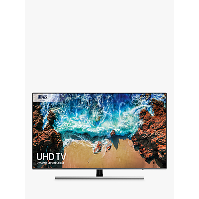 Samsung UE49NU8000 HDR 1000 4K Ultra HD Smart TV, 49 with TVPlus/Freesat HD, Dynamic Crystal Colour & 360 Design, Ultra HD Certified, Black