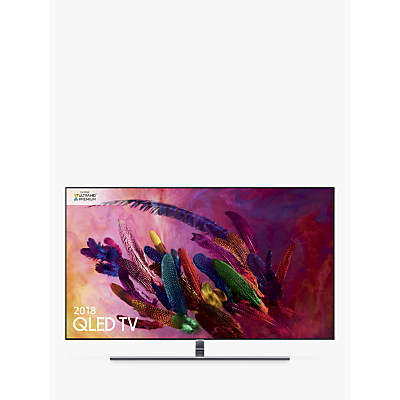 Samsung QE75Q7FN (2018) QLED HDR 1500 4K Ultra HD Smart TV, 75 with TVPlus/Freesat HD & 360 Design, Ultra HD Premium Certified, Silver