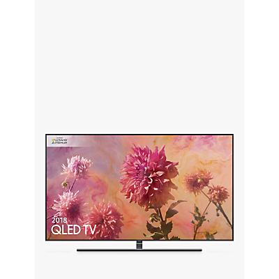 Samsung QE65Q9FN (2018) QLED HDR 2000 4K Ultra HD Smart TV, 65 with TVPlus/Freesat HD & 360 Design, Ultra HD Premium Certified, Black