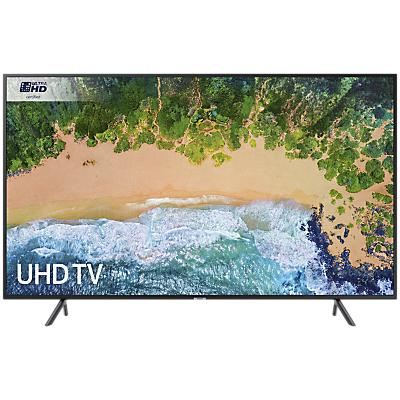 Samsung UE40NU7120 HDR 4K Ultra HD Smart TV, 40 with TVPlus & 360 Design, Ultra HD Certified, Black