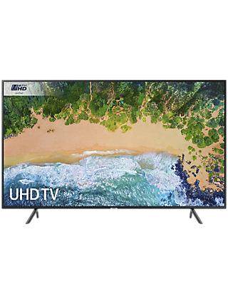 "Samsung UE40NU7120 HDR 4K Ultra HD Smart TV, 40"" with TVPlus & 360 Design, Ultra HD Certified, Black"
