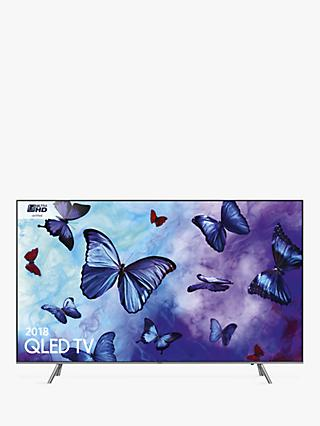 Samsung QE55Q6FN (2018) QLED HDR 1000 4K Ultra HD Smart TV, 55\ TV Deals UK \u0026 Offers | TVs John Lewis Partners