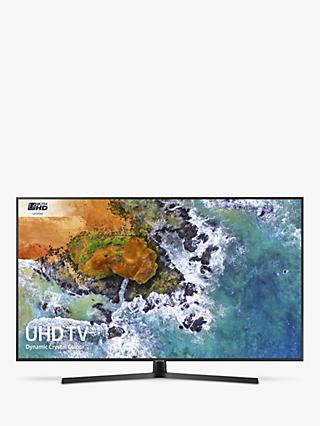 "Samsung UE55NU7400 HDR 4K Ultra HD Smart TV, 55"" with TVPlus/Freesat HD, Dynamic Crystal Colour & 360 Design, Ultra HD Certified, Black"