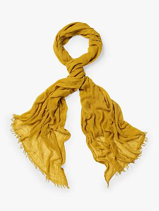 White Stuff Dreaming Away Scarf, Chartreuse