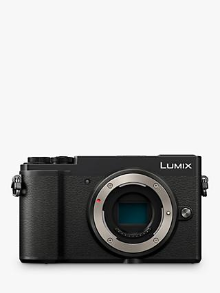 "Panasonic Lumix DC-GX9 Compact System Camera, 4K Ultra HD, 20.3MP, Wi-Fi, Bluetooth, Tiltable EVF, 3"" Tiltable Touch Screen, Body Only, Black"