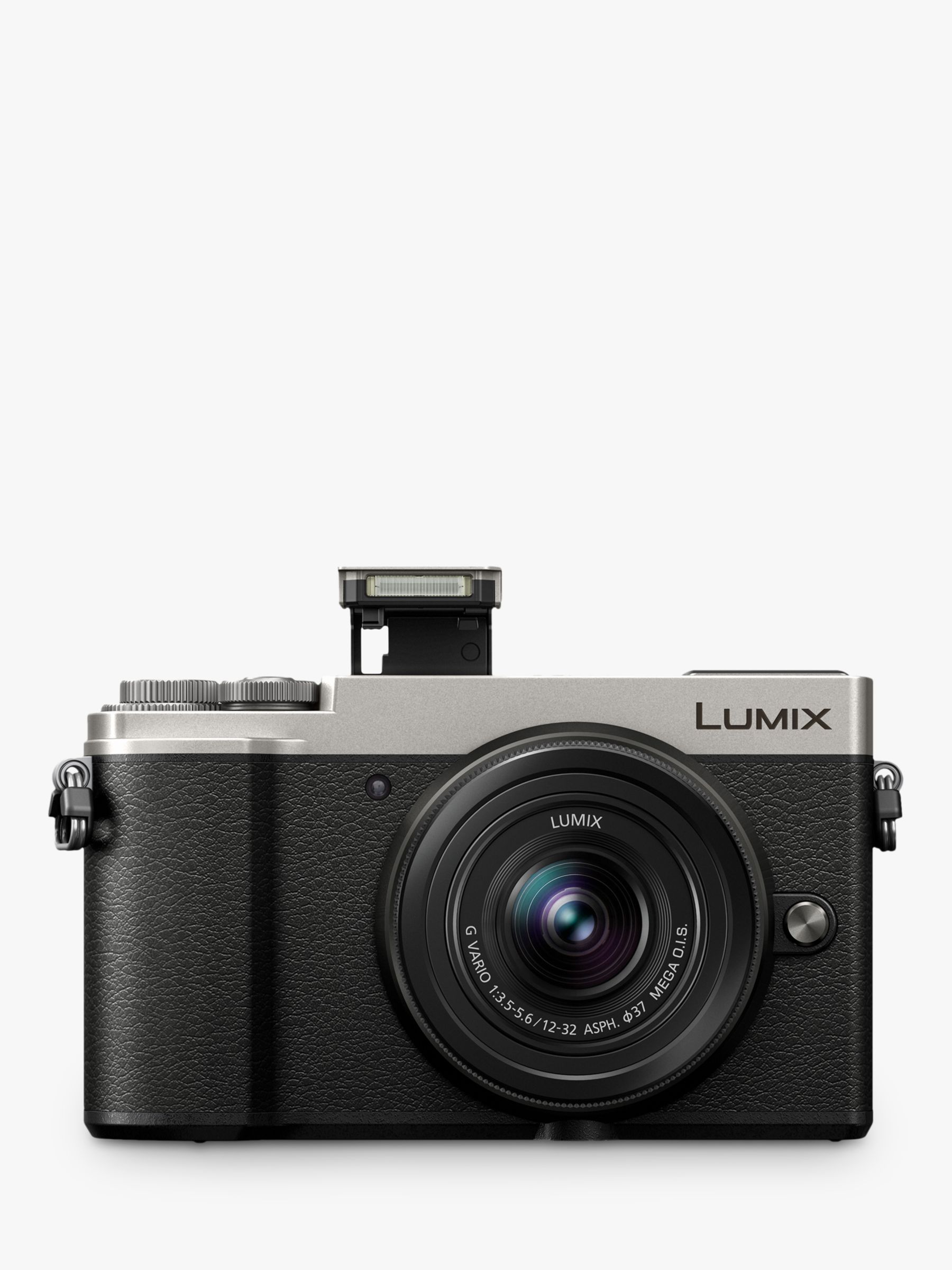Panasonic Lumix DC-GX9 Compact System Camera with 12-32mm IS Lens, 3x  Optical Zoom, 4K Ultra HD, 20 3MP, Wi-Fi, Bluetooth, Tiltable EVF, 3