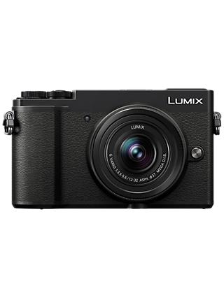 "Panasonic Lumix DC-GX9 Compact System Camera with 12-32mm IS Lens, 3x Optical Zoom, 4K Ultra HD, 20.3MP, Wi-Fi, Bluetooth, Tiltable EVF, 3"" Tiltable Touch Screen, Black"