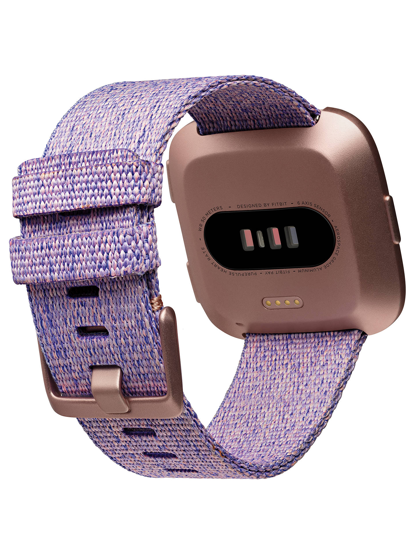 BuyFitbit Versa SE Smart Fitness Watch, Lavender Online at johnlewis.com