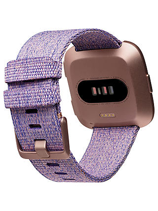 Buy Fitbit Versa Special Edition Smart Fitness Watch, Lavender Online at johnlewis.com