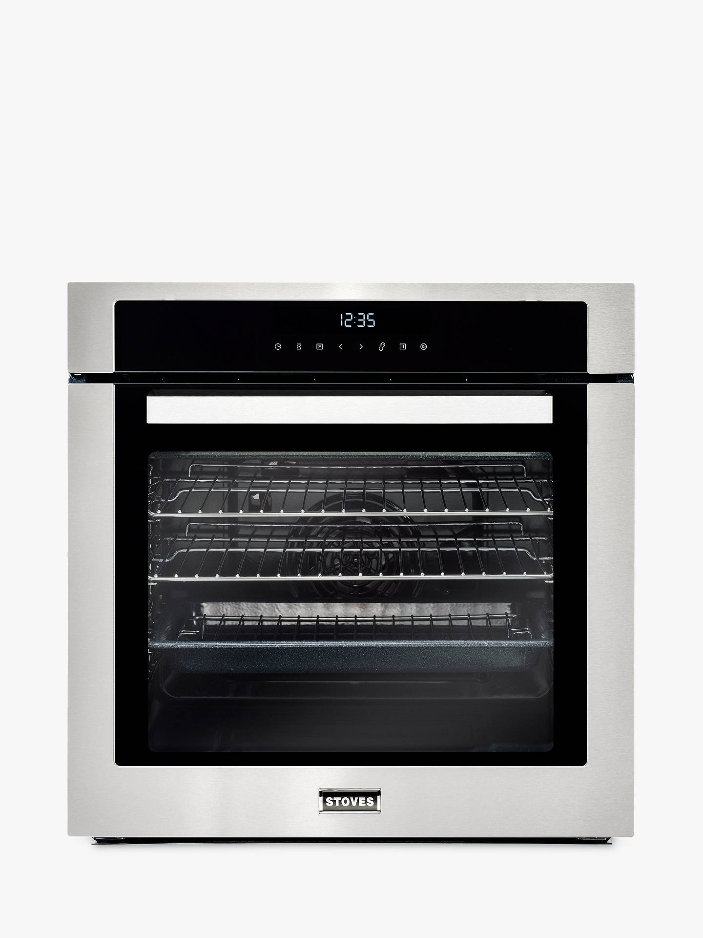 BuyStoves SEB602MFC Single Electric Oven, Stainless Steel Online at johnlewis.com