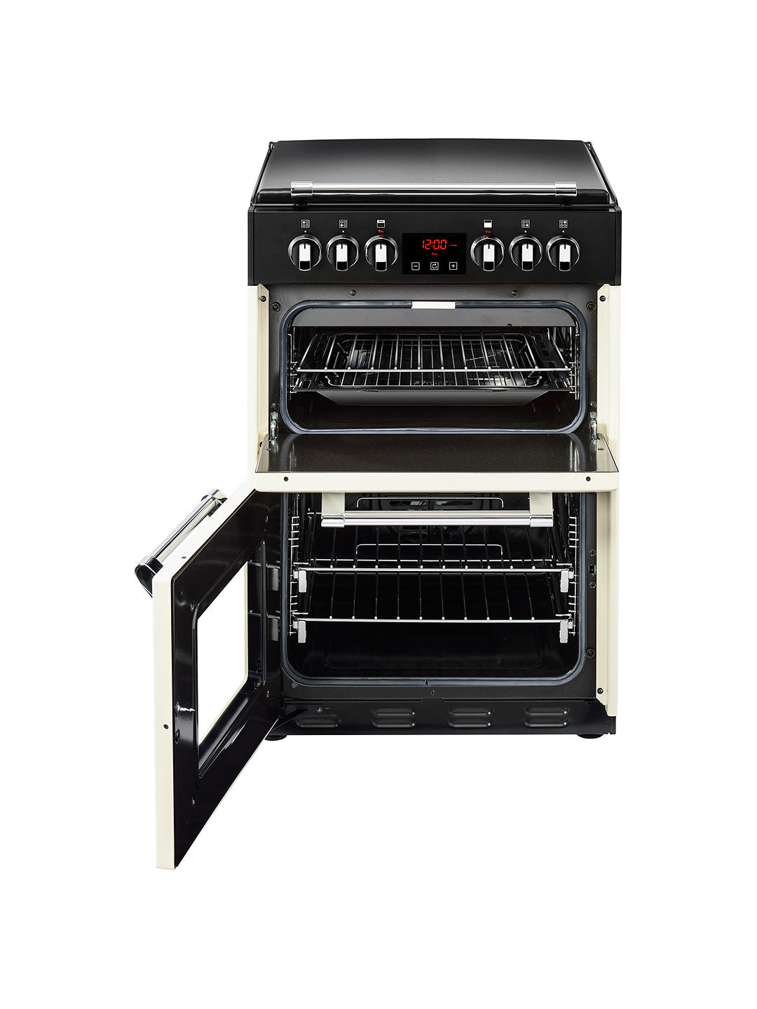 Buy Stoves Richmond 600E Electric Range Cooker, Cream Online at johnlewis.com