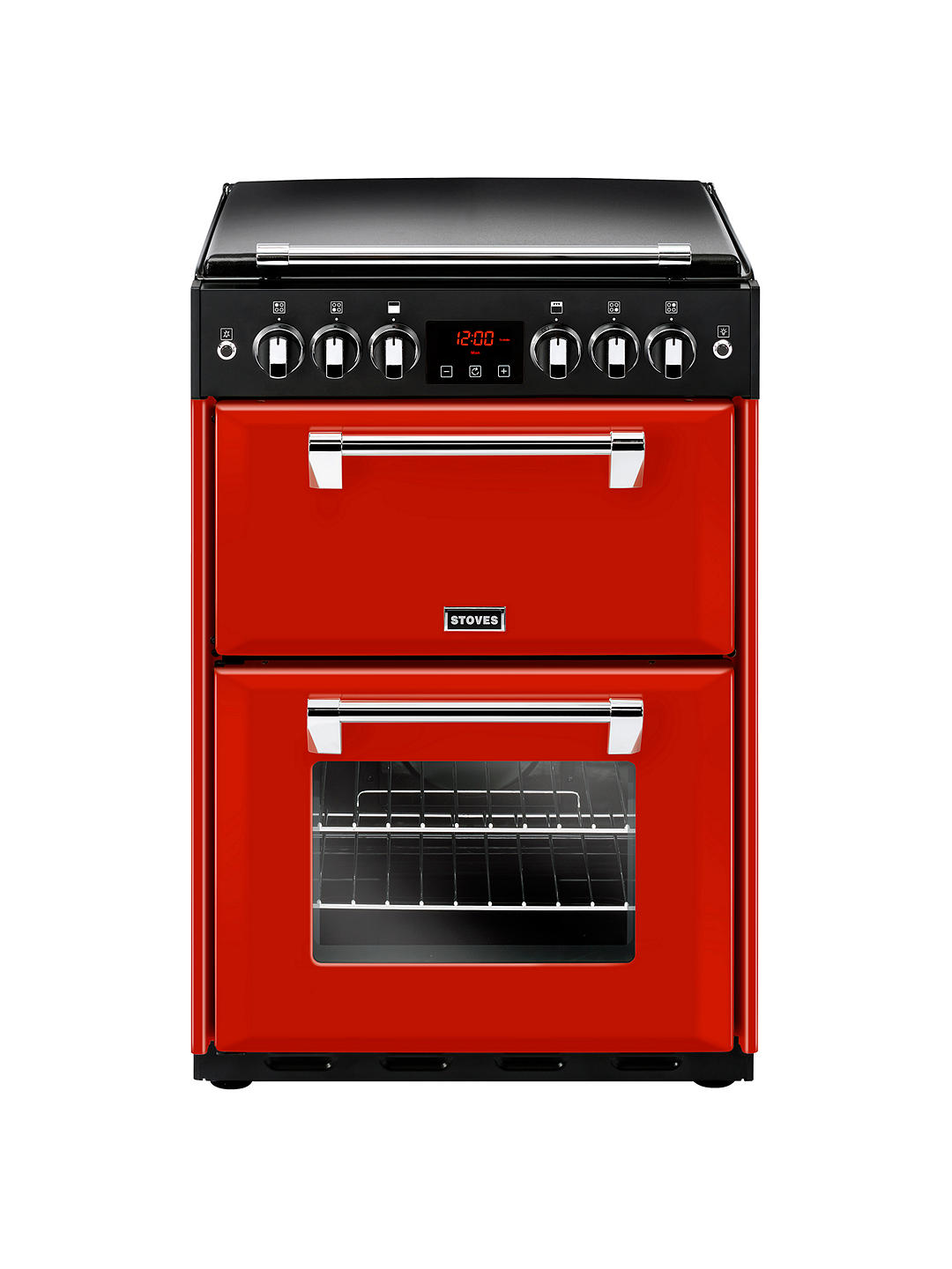 Buy Stoves Richmond 600G Gas Range Cooker, Red Online at johnlewis.com