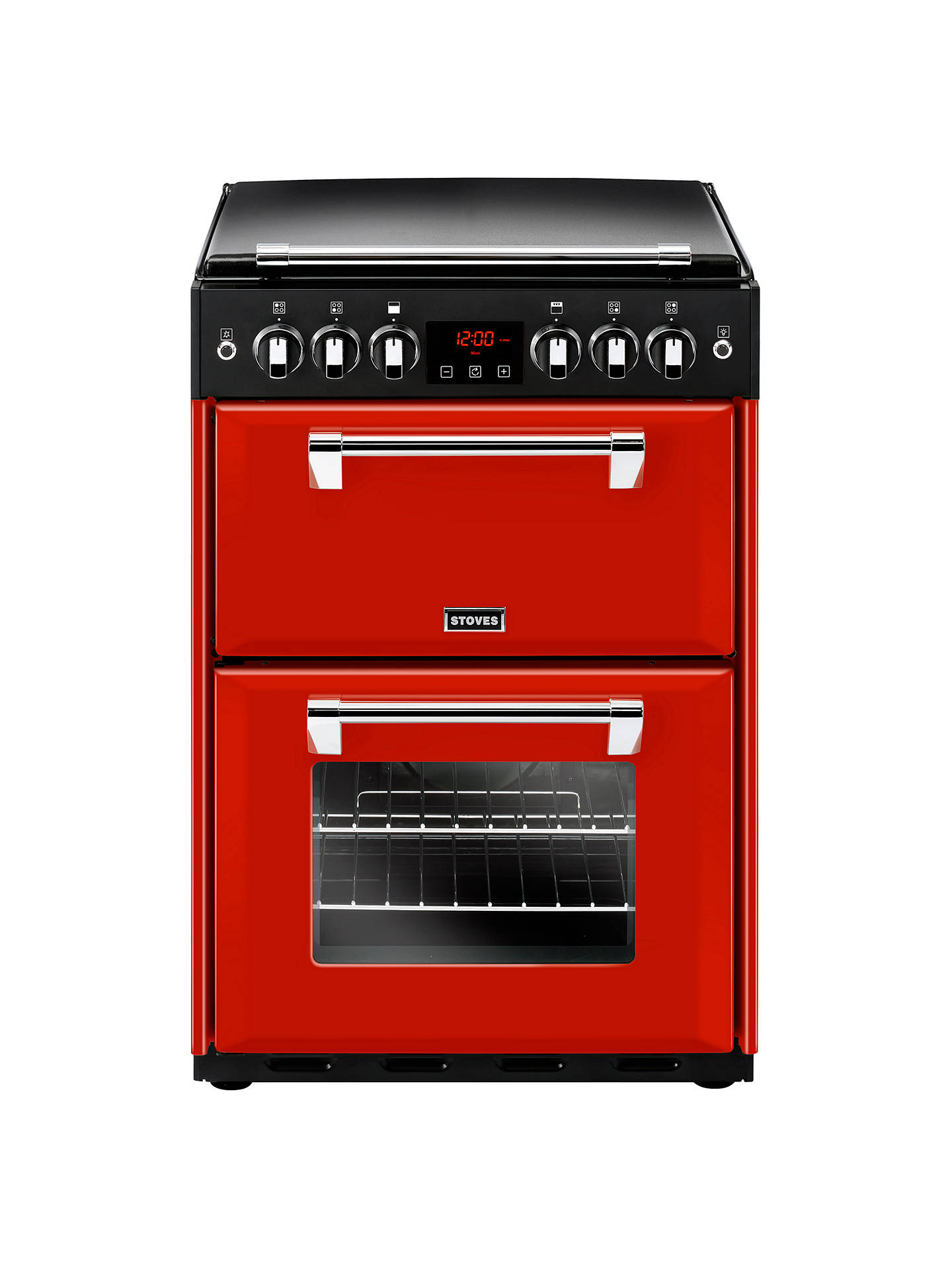 BuyStoves Richmond 600G Gas Range Cooker, Red Online at johnlewis.com
