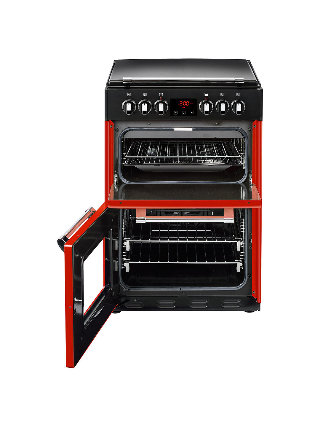 Buy Stoves Richmond 600E Electric Range Cooker, Red Online at johnlewis.com
