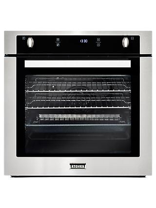 Stoves SEB602PY Single Electric Oven, Stainless Steel
