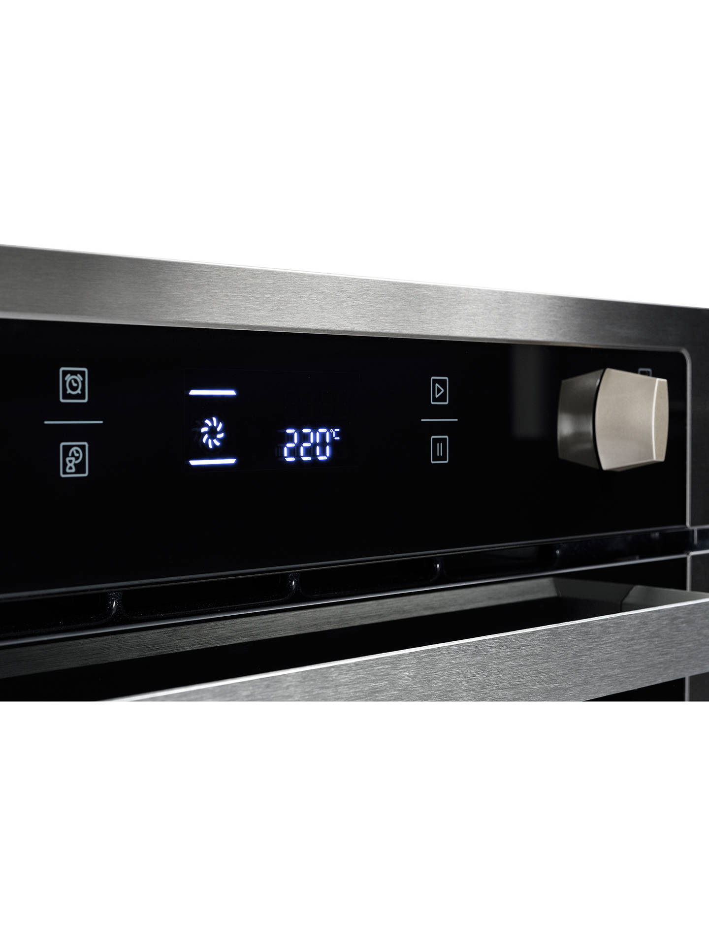 BuyStoves SEB602PY Single Electric Oven, Stainless Steel Online at johnlewis.com