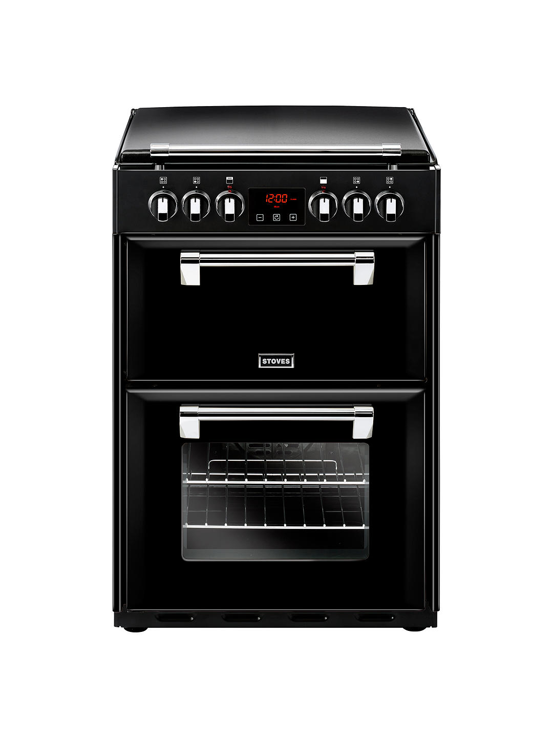 Buy Stoves Richmond 600E Electric Range Cooker, Black Online at johnlewis.com