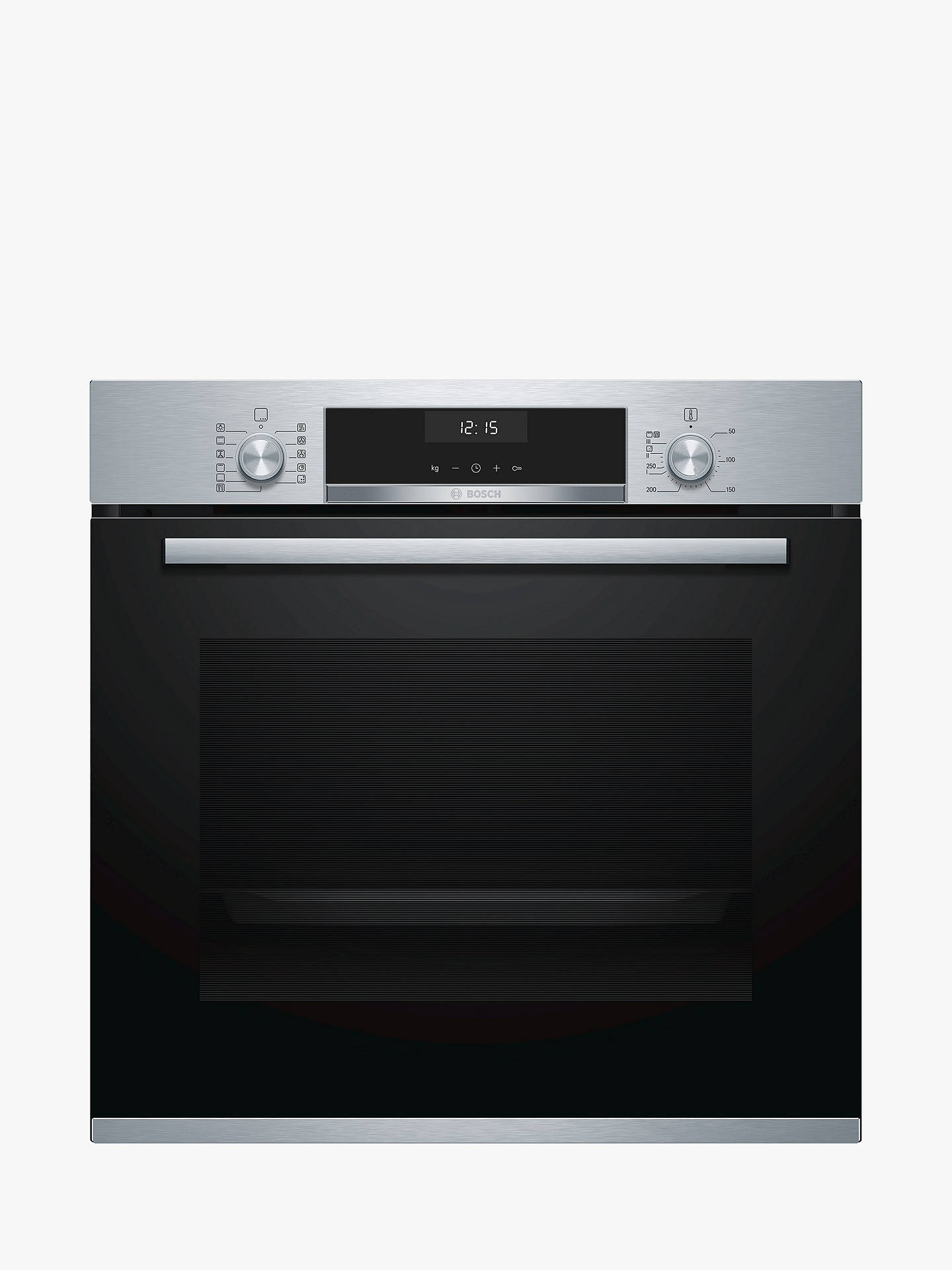 BuyBosch HBA5570S0B Built-In Single Oven, Stainless Steel Online at johnlewis.com