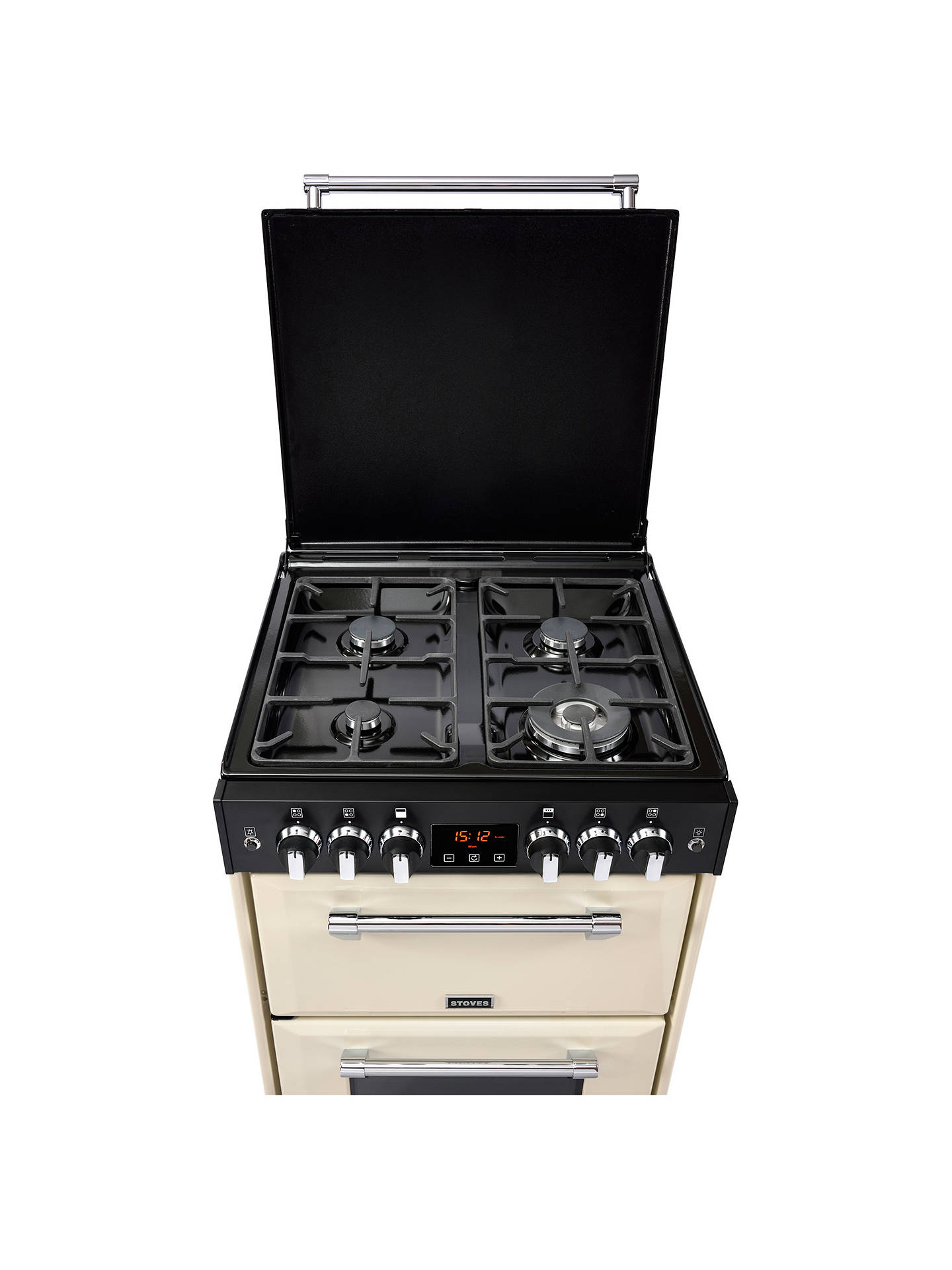BuyStoves Richmond 600G Gas Range Cooker, Cream Online at johnlewis.com