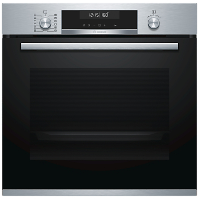 Image of Bosch HBG5585S0B Built-In Single Electric Oven, Stainless Steel