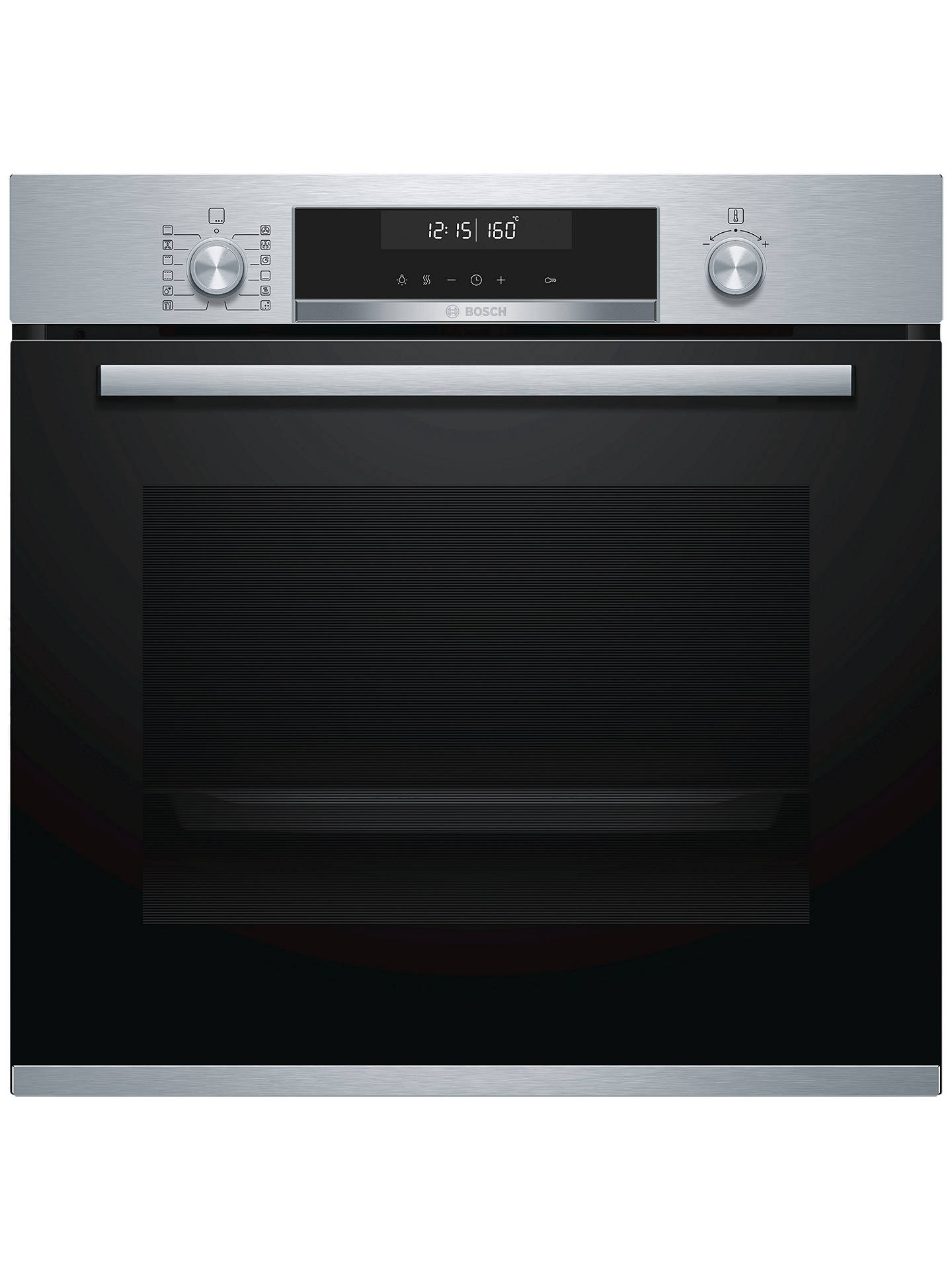 BuyBosch HBG5585S0B Built-In Single Oven, Stainless Steel Online at johnlewis.com