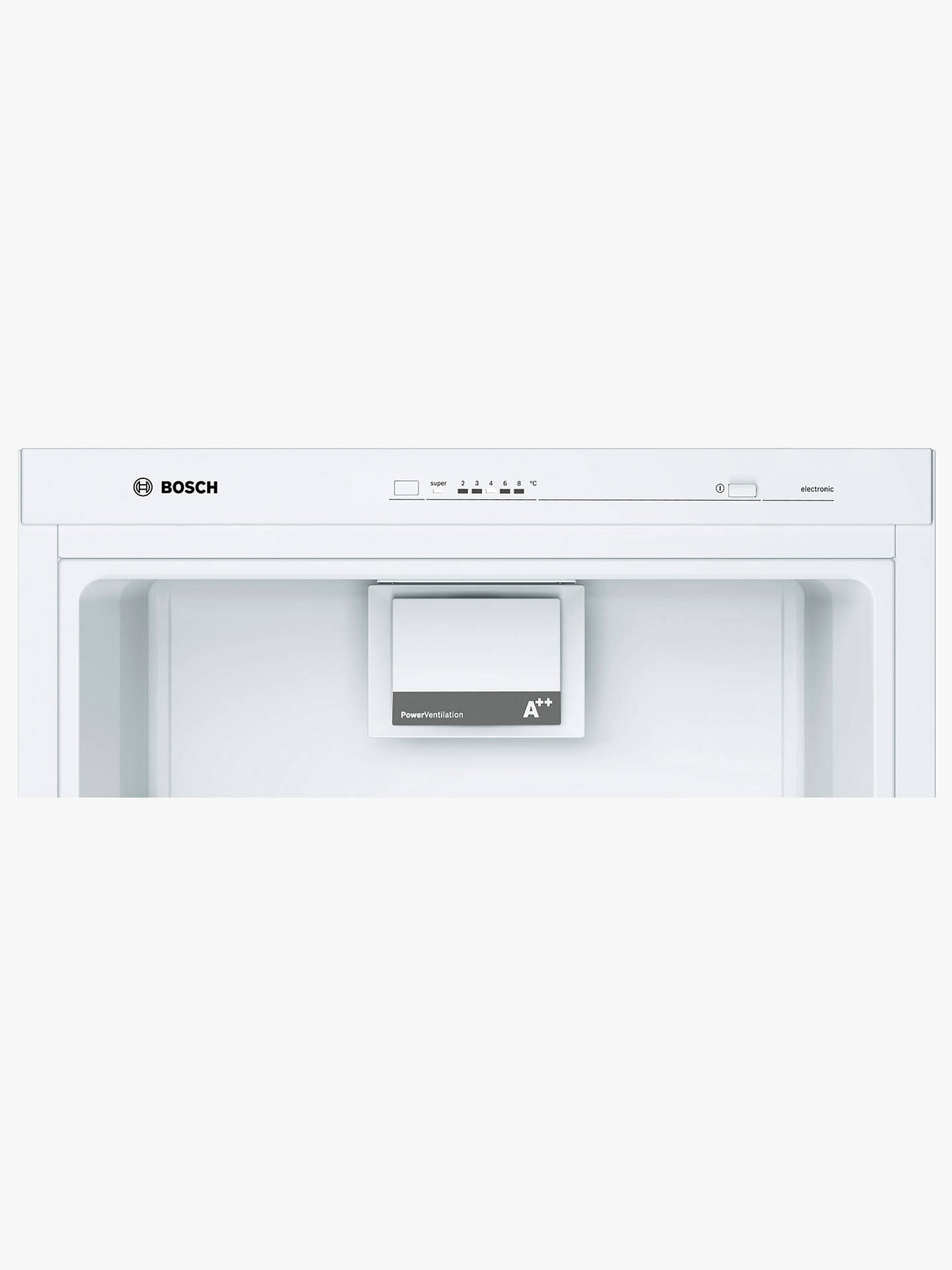 BuyBosch KSV29NW3PG Tall Larder Fridge, A++ Energy Rating, 60cm Wide, White Online at johnlewis.com