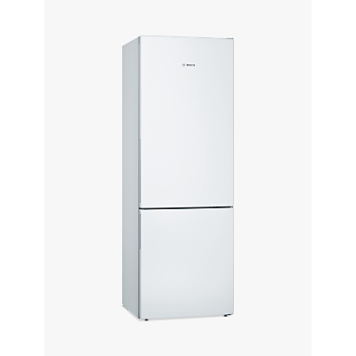 Bosch KGE49VW4AG Freestanding Fridge Freezer, A+++ Energy Rating, 93cm Wide, White